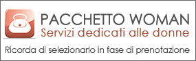 Pacchetto Woman hotel 3 stelle Roma