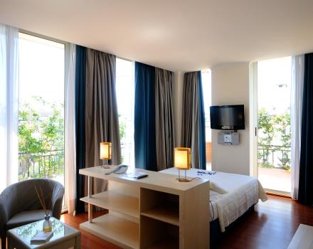 Junior suite Best Western Globus Hotel. La camera ideale per sognare!