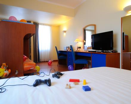 Give your children a stay at Globus Hotel that also takes into account the expectations and needs of the tiny tots!