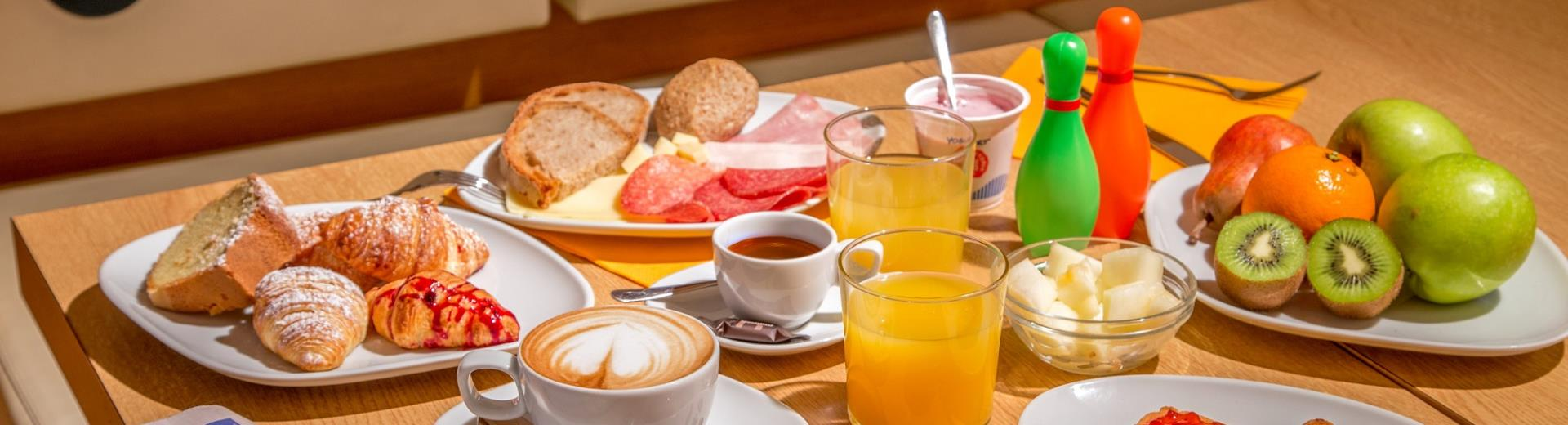 You need energy to start your day? Choose breakfast the BW Globus Hotel! It's the one that's right for you!
