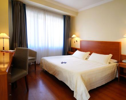 Room type Working, best western Globus Hotel Rome, 3 stars.