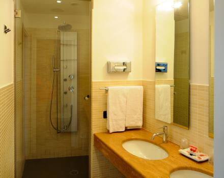 bagno junior suite Globus Hotel