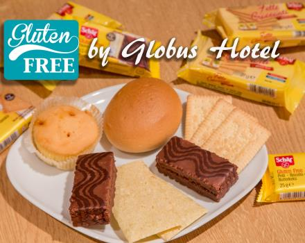 The Globus Hotel, 3 star hotel in Rome, there is no lack of attention for people with celiac disease! Ask our staff.