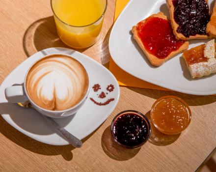 Start your day with an energy boost! Choose to start it with us at BW Globus Hotel, Rome