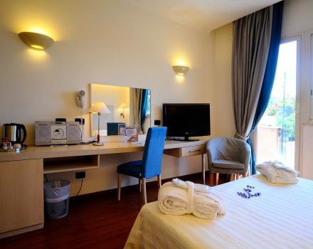 Superior double room Rome